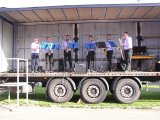 Po skončení oslavy hrála skupina p. Valty Saxstep známé muzikálové a filmové melodie.
