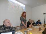 Vedení schůze se ujala L. Beranová