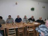 Pozdravy hostů, MS - M. Jelínek, TJ - L. Vodička, SDH M. Kebrdle a J. Palek.