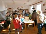 Součástí výstavy byla prohlídka dílny LMK v Drozdově.