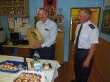 Pivní holba s patronem hasičů hosta potěšila.