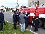 Tatra nepatří k nejnovějším a potřebuje opravu, říká starosta obce p. Sládek.