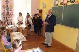 Žáky přivítal i místostarosta obce F. Rejzek.