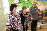 J. HUmlová, M. Lisá a starosta obce.