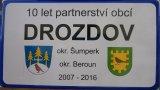 10 let partnerství obcí Drozdov - Drozdov