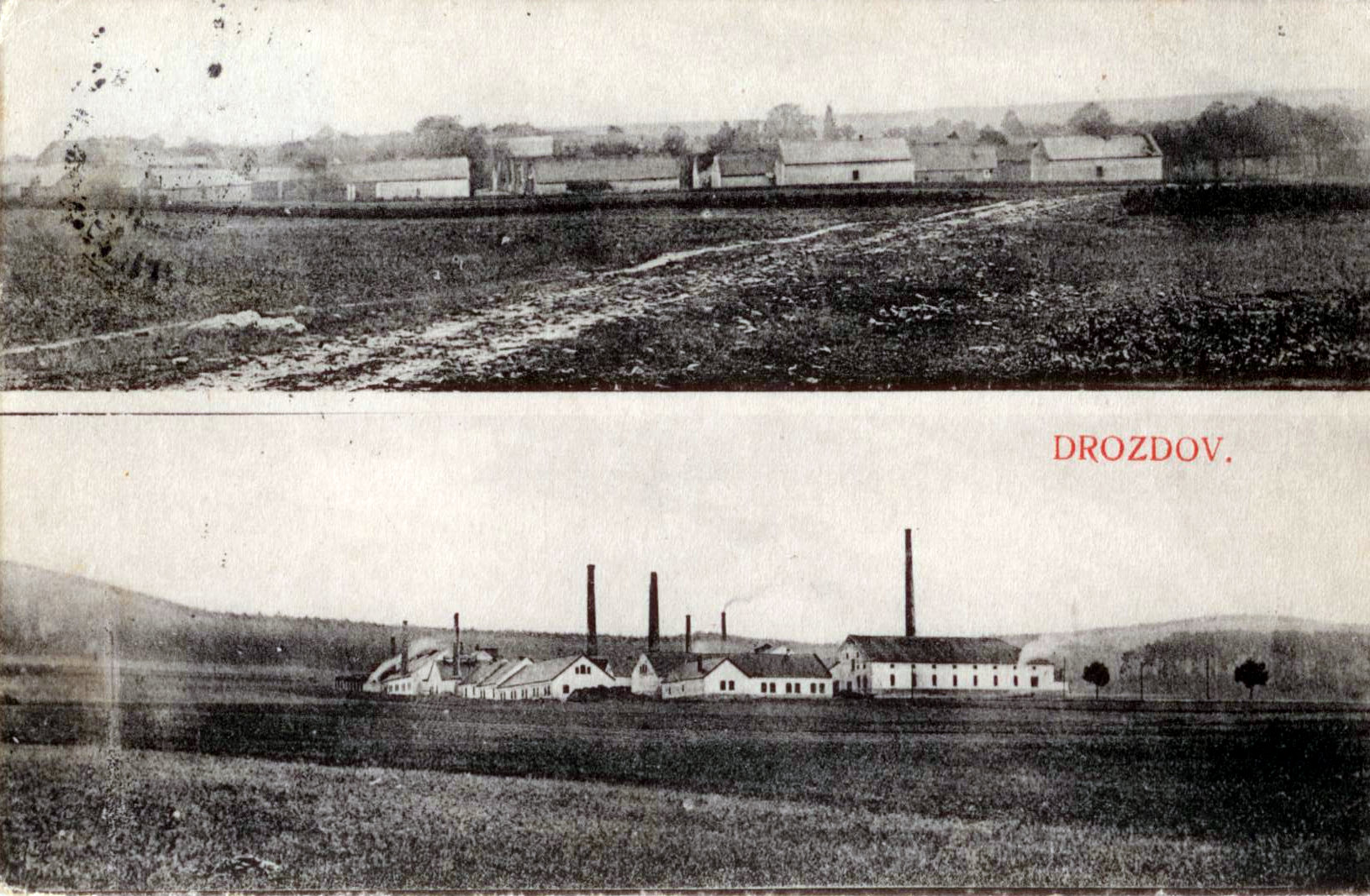 Továrna ne chemikálie v Drozdově