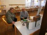 U staré techniky členové LMK p. Valášek a Miller