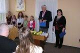 Vystoupení žáků ZŠ, přítomné přivítal místostarosta obce Mgr. F. Rejzek a paní Jitka Humlová za SPOZ.